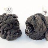 黑色 eye puppy 幼犬造型香氛蠟燭禮盒 / eye puppy candle set