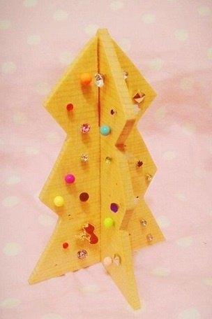 圣诞树手工制作吊饰步骤
