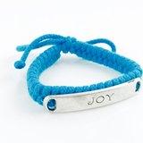 「藍色編繩 x JOY銀牌」
