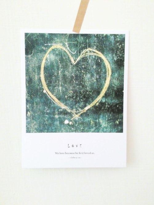 LOVE_聖經文創_福音卡