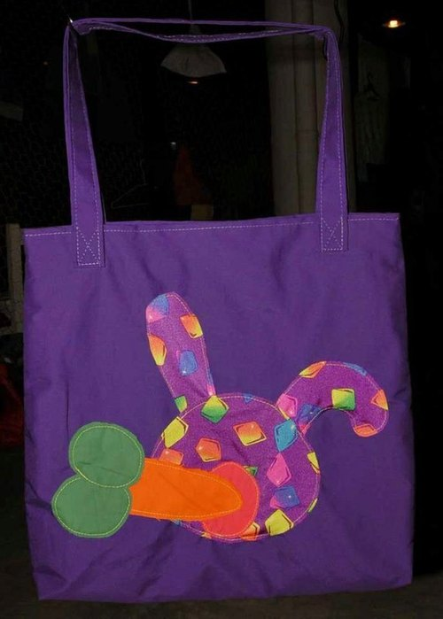 幼儿园纸袋人物创意手工制作兔子