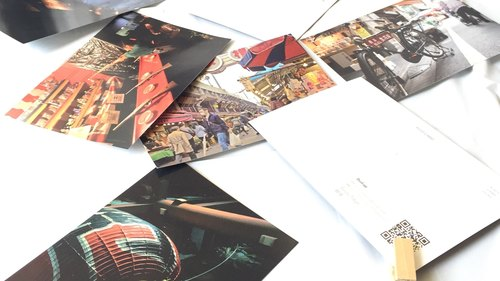 Any 5 Postcards. your choice. Not your ordinary postcard! Scenic Japanese Postcards set with embedded 360 degree panoramic view.