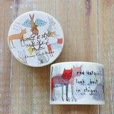 Aimez le style 寬版和紙膠帶 (04543 夢幻貓咪與兔兔)