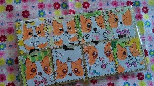 幼儿手工制作邮票