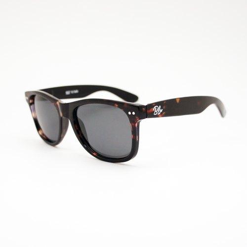 BLR Instagram 濾鏡效果 太陽眼鏡  琥珀黑 Polarized 版 TENS