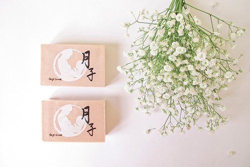 宮之秘 月子愛參皂 | Yuezi Soap 120g 珍貴天然中草藥手作皂 (人參 三七 當歸 西紅花 薑)