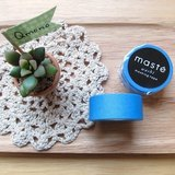 maste Masking Tape 和紙膠帶 Basic 亮眼螢光系【螢光藍 (MST-MKT07-BL)】