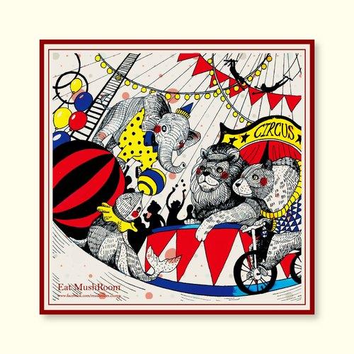 circus  maze 明信片