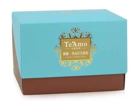 【Te'Amo 紅茶專賣店】茶包盒系列 - 錫蘭‧努瓦拉艾利亞 Nuwara Eliya (20入)