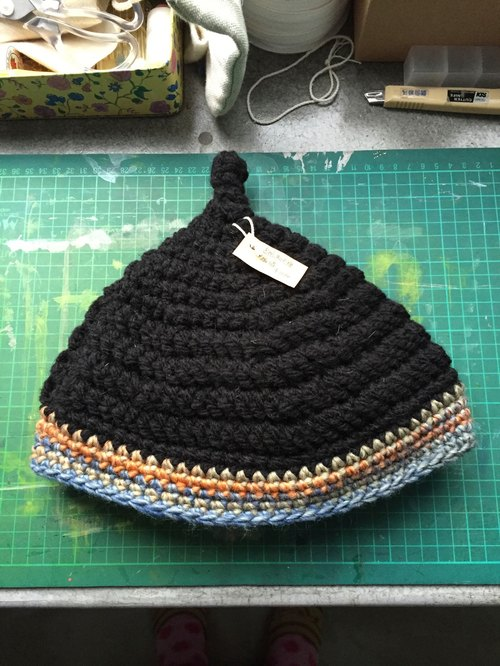 手工编织德国精灵栗子帽 - 海边的司厨 杂货 | pinkoi