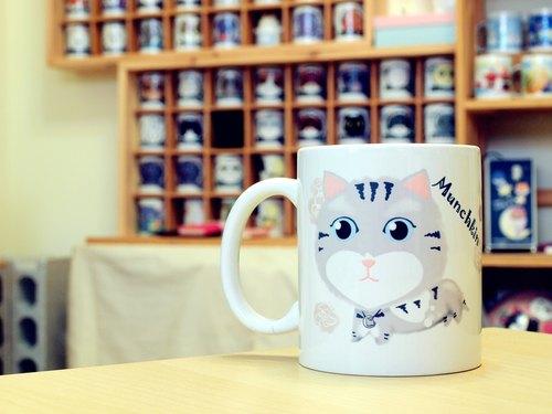 《 NONCOOL‧酷農 》曼赤肯(臘腸貓).馬克杯/直筒杯 (300ml)