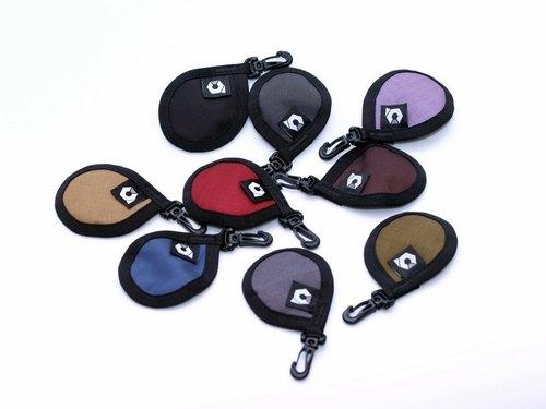 Keychain 鑰匙圈 (SCHIST郵差包專屬可拆式配件)- 紅/黑/藍/卡其/咖啡/灰/紫