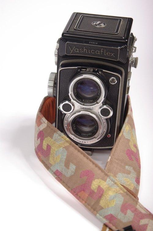 手绘线减压相机背带(宽版)