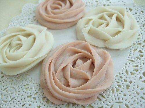花朵餅乾手工皂-婚禮小物、企業贈禮、旅行小皂