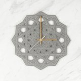 Prime Collection geometric wall clock
