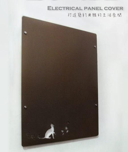 變電箱遮蓋板,客製尺寸,金屬質感有各色選擇,可吸磁鐵,簡約質感,率直濃厚