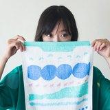 Yinke小狗星球軟軟毛巾(淺粉直款)