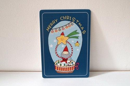 《聖誕水晶音樂盒》明信片