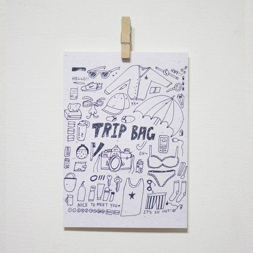 TRIP BAG /Magai's postcard
