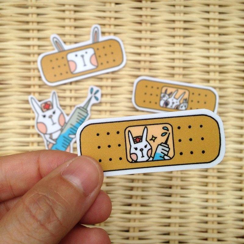 LeeP手繪貼紙-兔兔的OK蹦 - LeeP's Doodle | Pinkoi