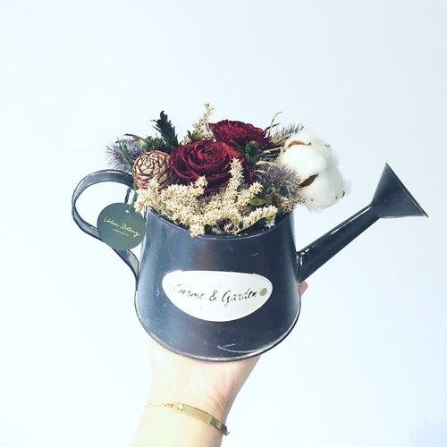 手工制作玫瑰花盆