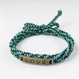 LOVE編繩系列(情人節款式)-綠黑綜合色