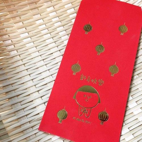 fifi新年灯笼红包袋 (五入)