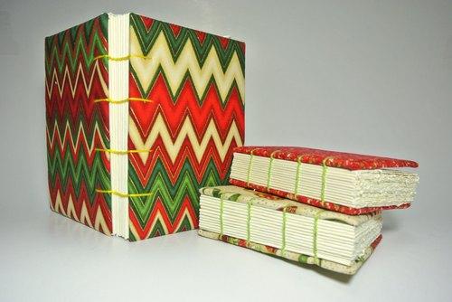 小瑕疵:圣诞礼物组合/手工笔记本/千层蛋糕