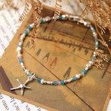 Journal(白海日誌)-白海星/純銀手作、天然石手環手鍊
