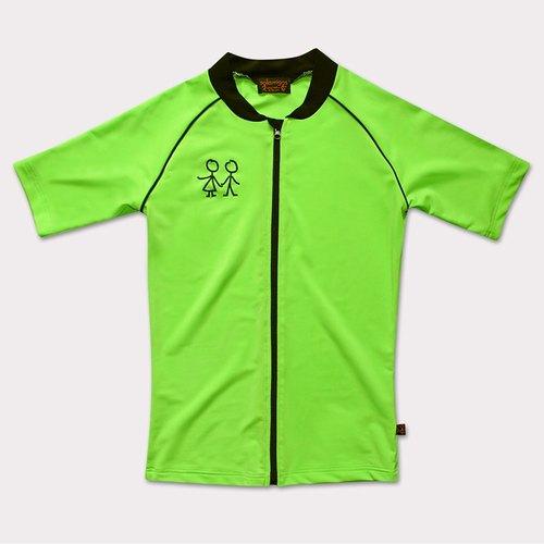 镉绿色衣服搭配图