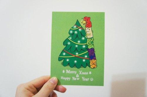 小熊軟糖 聖誕卡片