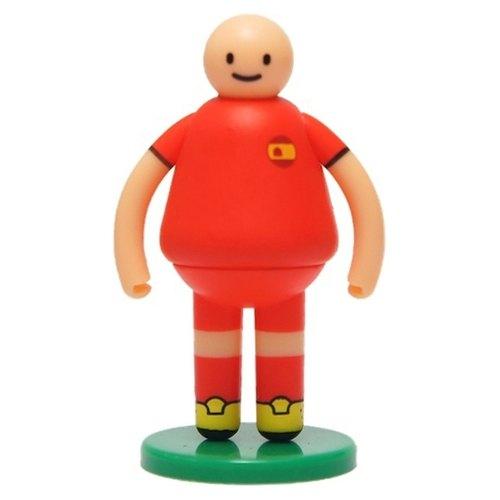【UPUP舉牌小人】立體公仔-足球系列 西班牙小人