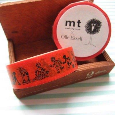 mt 和紙膠帶北歐系列Olle Eksell【Kids(MTOLLE02)】生產完了品