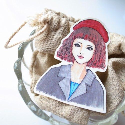 Bon Bon Stickers 妃炫少女 半身 貼紙 單張