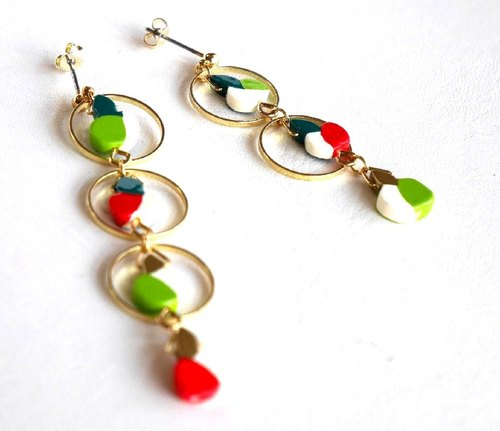水果树 耳环