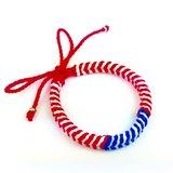 「紅藍白經典編繩款」