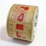 mt和紙膠帶G8 x Philippe【red(MTWEIS01)】