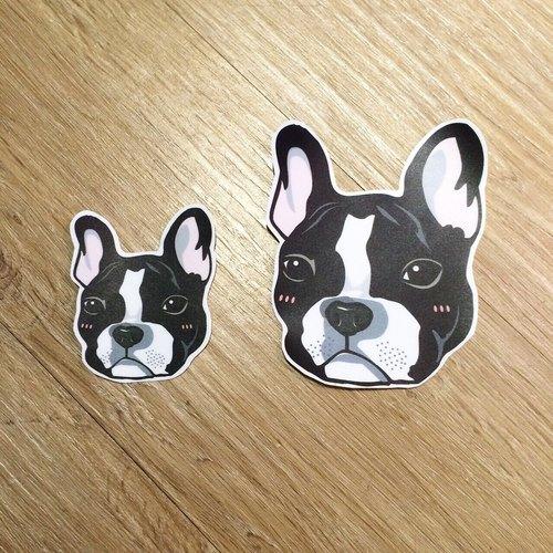 寵物防水貼紙-兩張一組任君挑選( 防水 / 抗UV / 撕不 ...