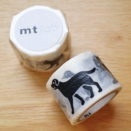 mt 和紙膠帶 fab 凹凸網版系列【黑色動物(MTSC1P04)】