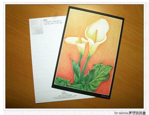 亭亭-花言葉系列-萬用卡(單張)
