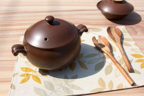 【VIVA】能量陶瓷系列●能量養生鍋 福寶-咖啡