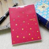 amifa 2015 迷你手帳+筆記本【27808 閃亮星星-桃紅】