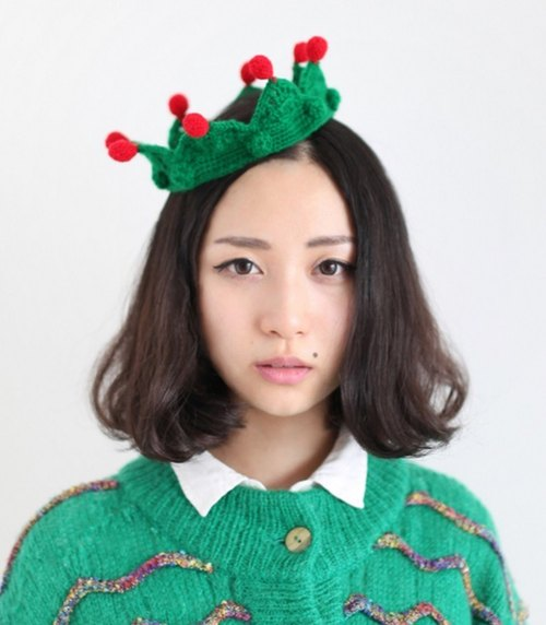 钩织圣诞帽子图解