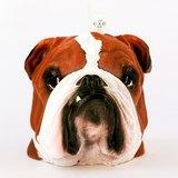 彩繪版英國鬥牛犬造型蠟燭 Painted Bulldog Candle