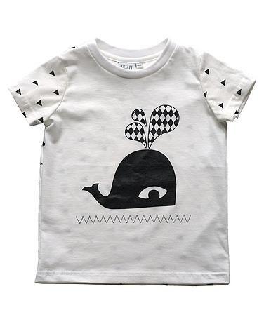 鯨魚寶貝上衣