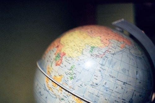 攝影 萬用 明信片 - Travel系列 - 地球儀