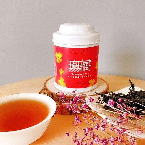 【無藏嚴選】台茶18號日月潭紅玉紅茶—10g精緻罐裝 【Classic Taiwan Tea-18】 Ruby Black Tea - 10 gram in small tea pot.
