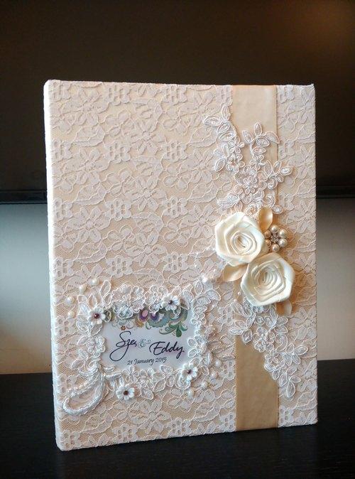結婚證書夾 結婚書約夾 - 香檳系1