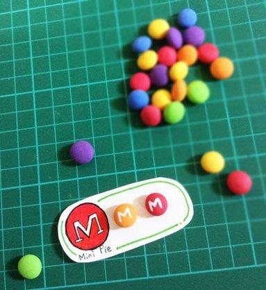 客製款 Skittles 字母彩虹糖耳環(可改耳夾式)   ((滿600隨機送神秘小禮物))