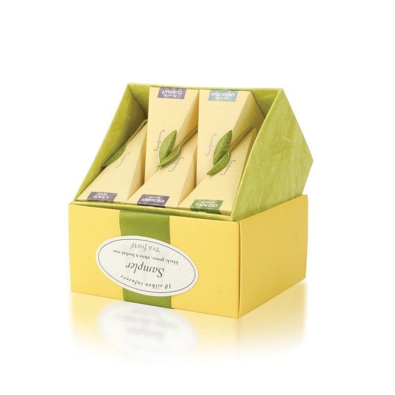 Tea Forte 10 Into A Silk Pyramid Tea Bags Classic